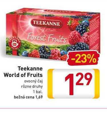 Teekanne World of Fruits