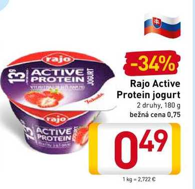 Rajo Active Protein 180 g