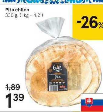 Pita chlieb, 330 g