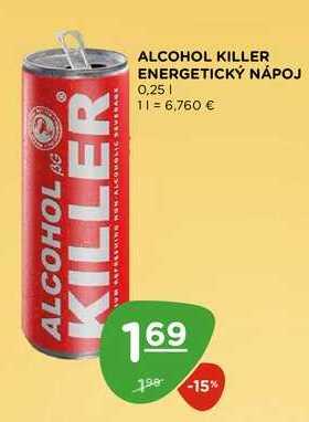 ALCOHOL KILLER ENERGETICKÝ NÁPOJ 0,25 l