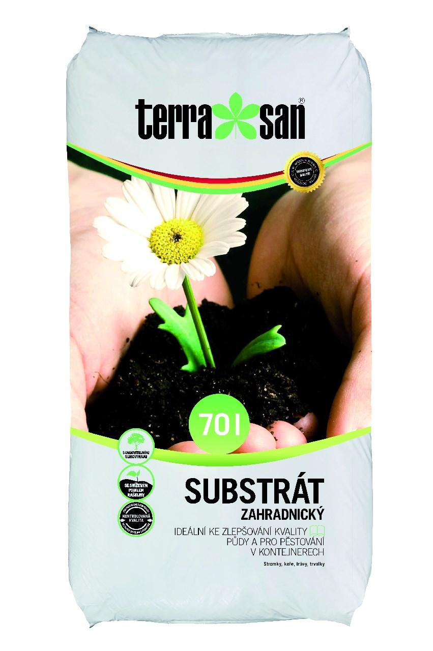 Substrát záhradnícky 70l Terrasan 1ks
