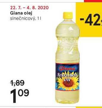 Giana olej, 1 l