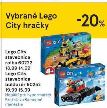Lego City stavebnica rolba 60222