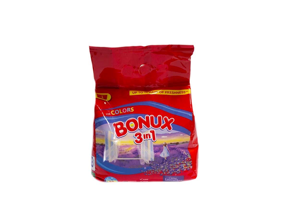 Bonux Lavender prací prášok 20praní 1x1 ks