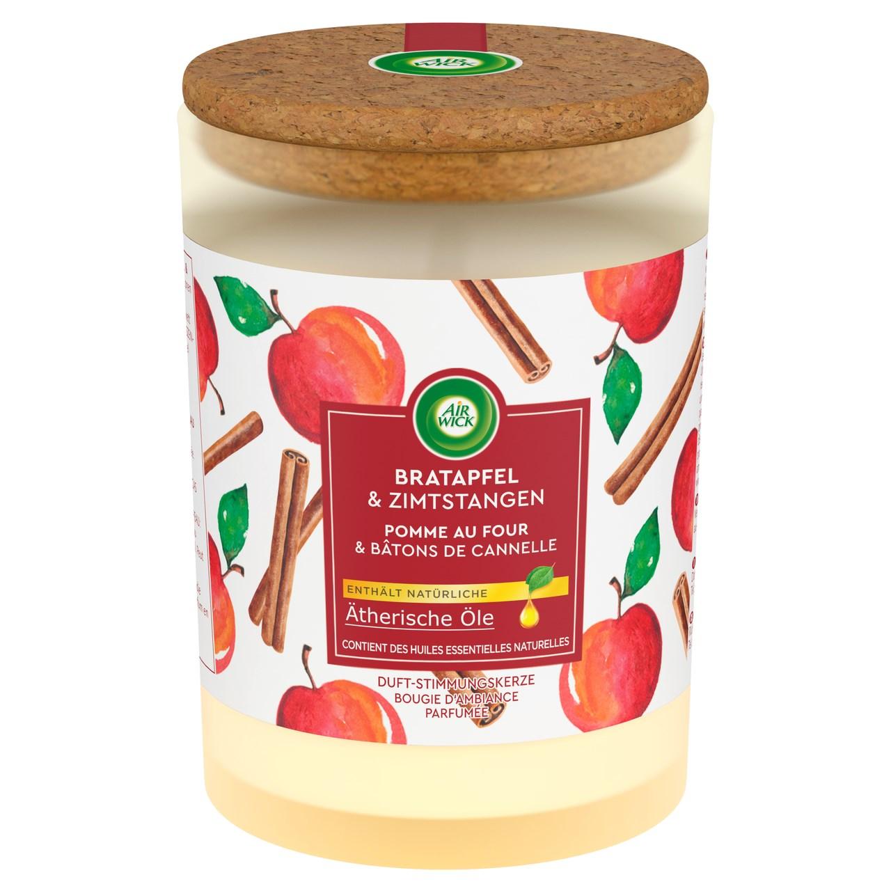 Air wick sviečka jablkový sad 1x185 g