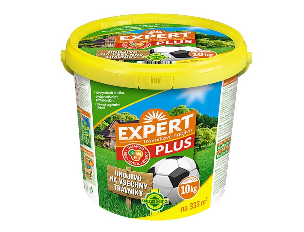 Hnojivo Expert Plus + Fe na trávnik 10kg 1ks