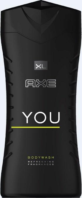 Axe You XL sprchový gél pánsky 1x400 ml