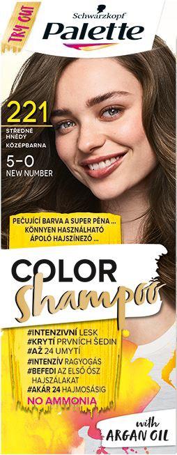 Palette Color šampón 221 stredne hnedá 1x1 ks