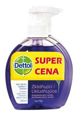 Dettol Ukludňujúce tekuté mydlo 1x250 ml
