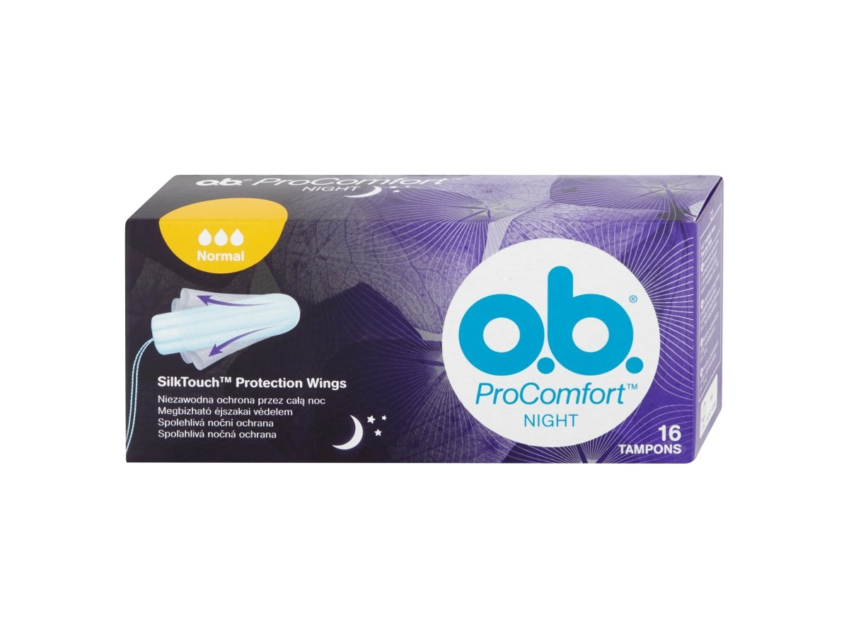 o.b. Tampóny ProComfort night normal 1x16 ks