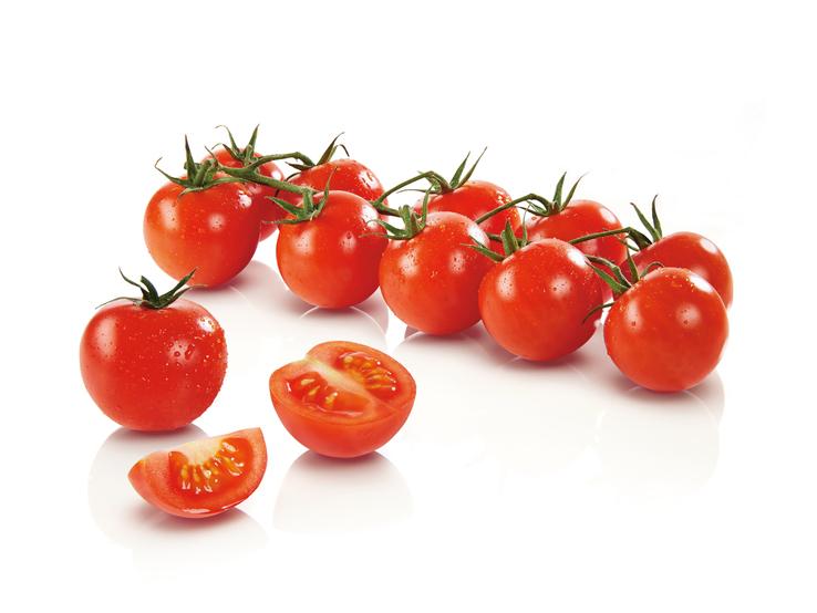 Bio koktejlové paradajky strapcové