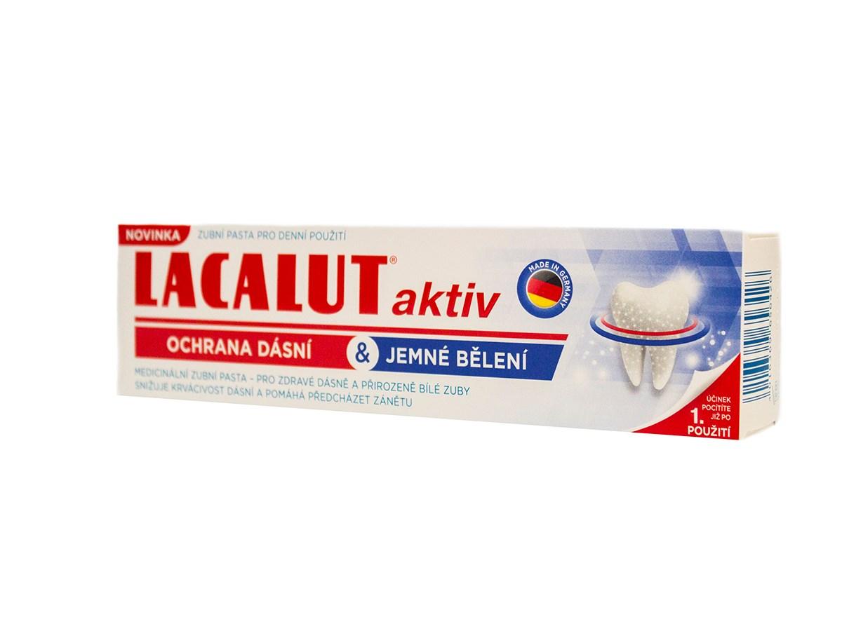 Lacalut Aktiv White zubná pasta 1x75 ml