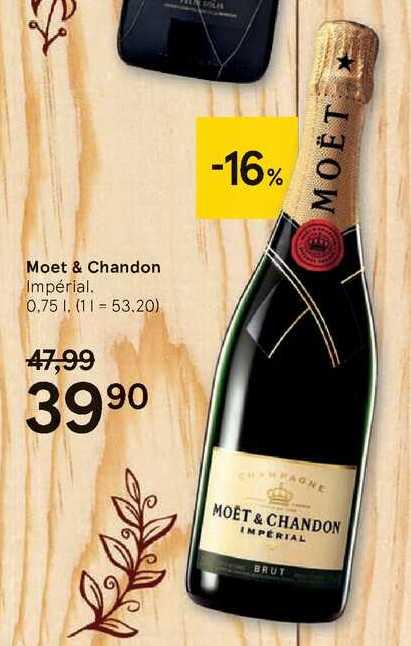 Moet & Chandon, 0,75 l