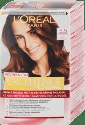 Farba na vlasy, 5.5 svetlá mahagónová hnedá