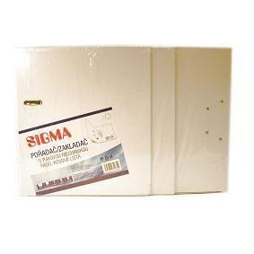 Šanón/zakladač A4/8cm pákový biely SIGMA 5ks