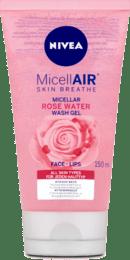 Čistiaci micelárny gél s ružovou vodou MicellAir, 150 ml
