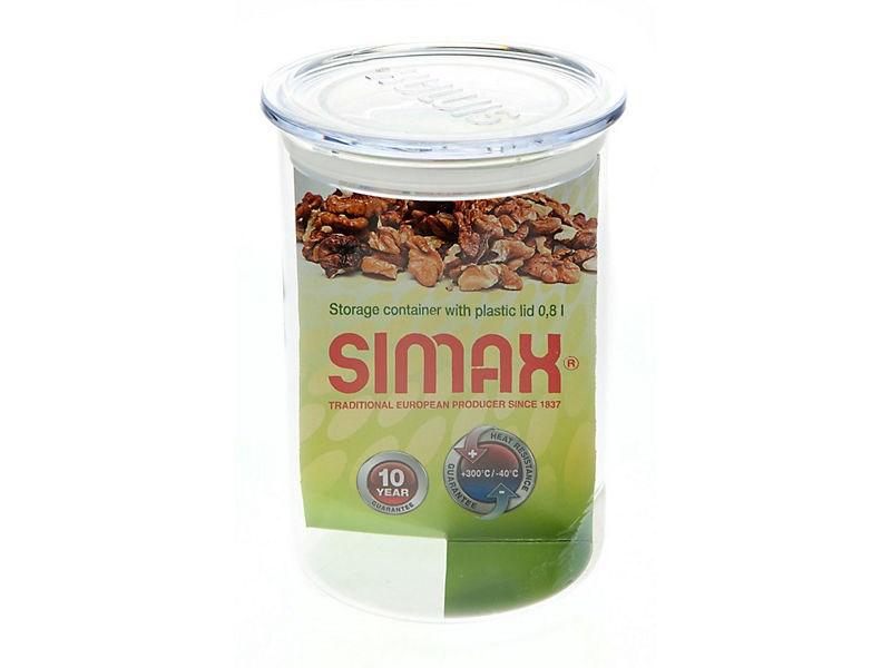 Zásobník na potraviny sklo 0,8 l Simax 1ks