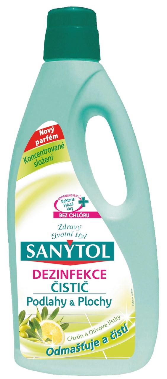 Sanytol čistič na podlahy citrus 2x1 l