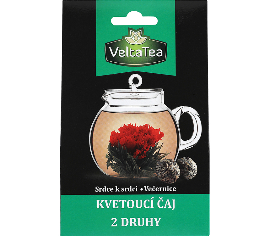 Kvitnúci čaj