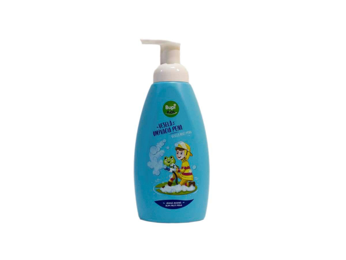 Bupi kids umývacia pena modrá 1x500 ml