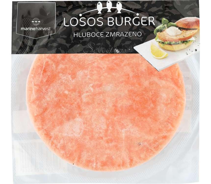 Losos burger