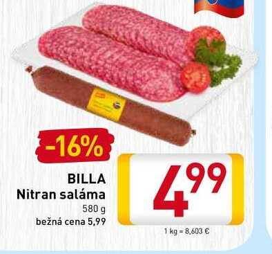 Nitran saláma  580 g