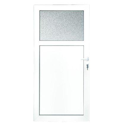 Plastové vedľajšie vchodové dvere 98 cm x 198 cm K301 ľavé