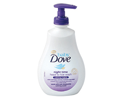 Dove Baby Night Time sprchový gél 400ml