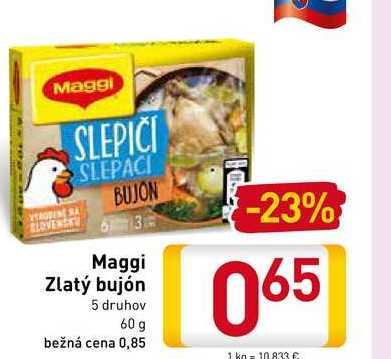 Maggi Zlatý bujón 60 g