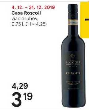 Casa Roscoli, 0,75 l