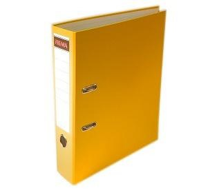 Šanón/zakladač A4/8cm pákový žltý SIGMA 1ks