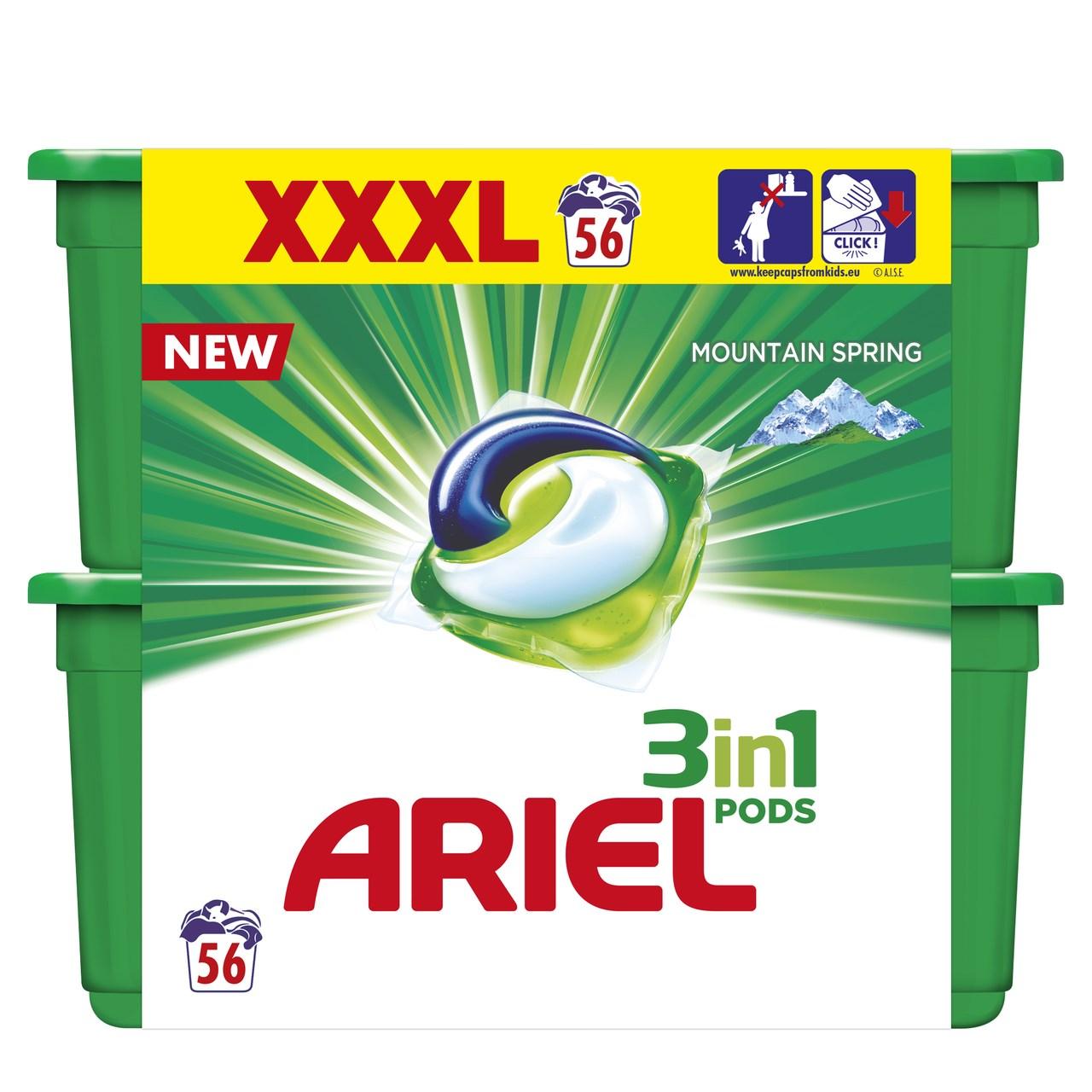 Ariel Mountain spring gelové tablety 2x28 ks