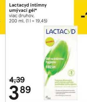 Lactacyd intímny umývací gél, 200ml