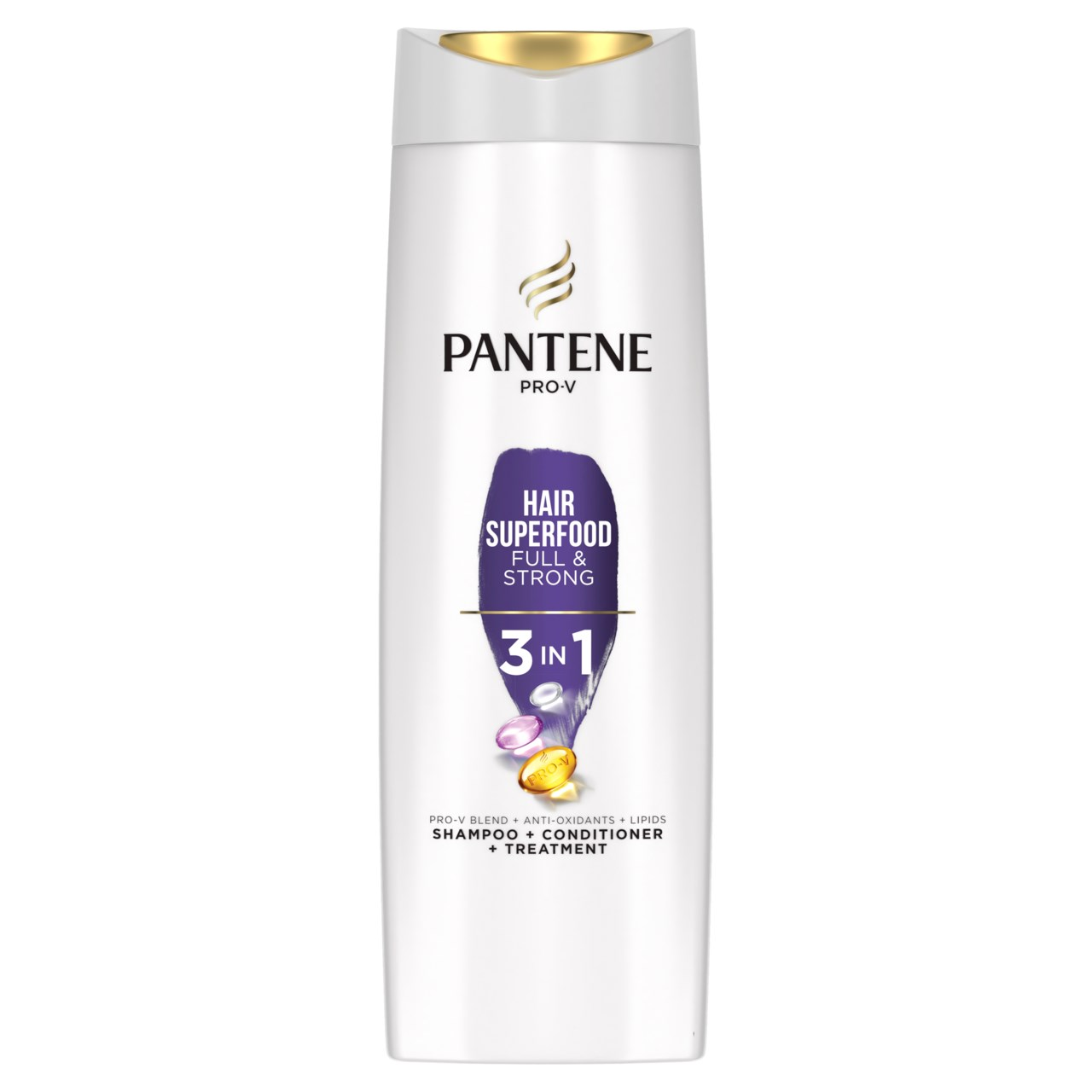 Pantene Superfood šampón 3v1 1x360 ml