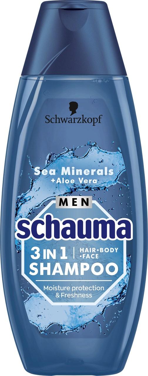 Schauma Men Morské minerály šampón 1x400 ml