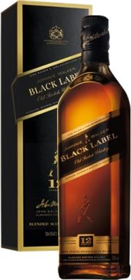 Johnnie Walker Black 40% 0,70 L Gift