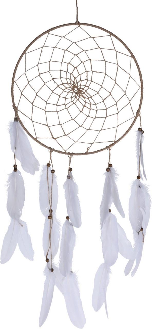 Lapač snov Biele perie 33x90 cm 1 ks