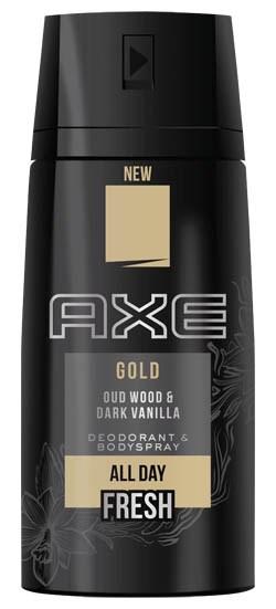 Axe Gold spray antiperspirant 1x150 ml