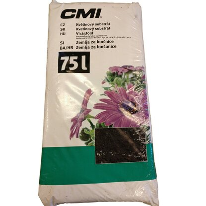 CMI Kvetinový substrát 1 x 75l