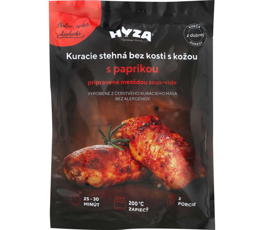 Kuracie stehná s paprikou