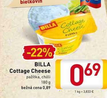 BILLA Cottage Cheese  180 g