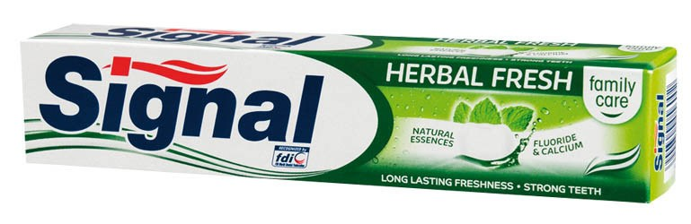 Signal family herbal fresh zubná pasta 1x75 ml