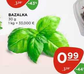BAZALKA 30 g