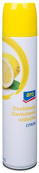 ARO Osviežovač vzduchu citrón 1x300 ml