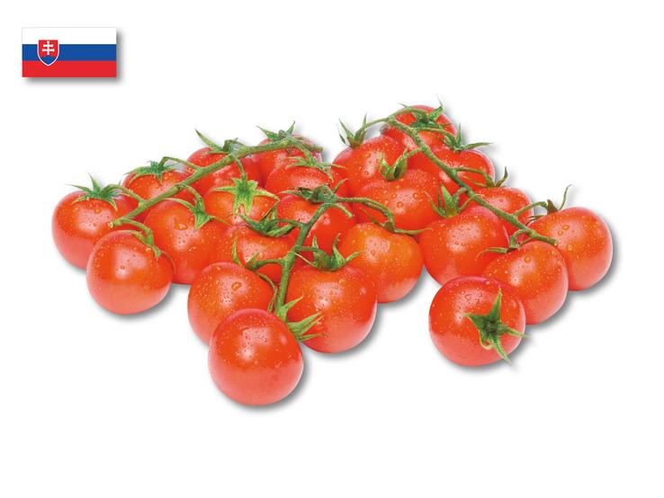 Cherry paradajky strapcové