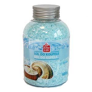 Fine Life soľ do kúpeľa ocean 1x600 g