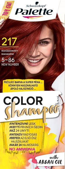 Palette Color šampón 217 mahagónová 1x1 ks