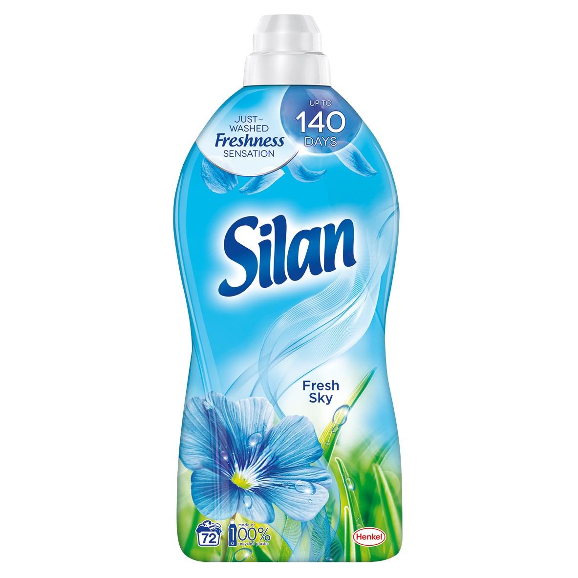 Silan Fresh Sky aviváž 72 praní 1x1800 ml