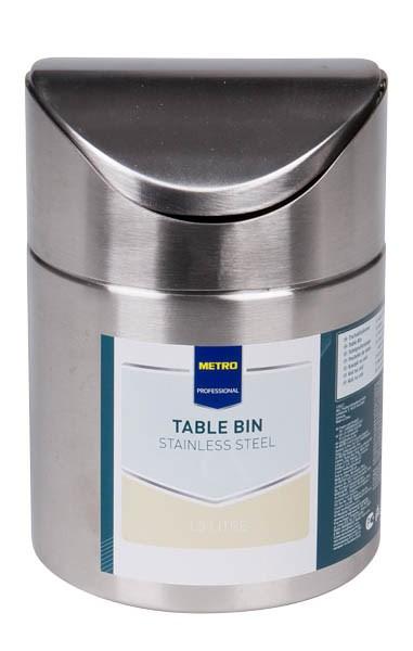 Kôš stolový 12cm Metro Professional 1ks