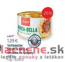 TATRAKON MORCA DELLA Omáčka na špagety 400 g